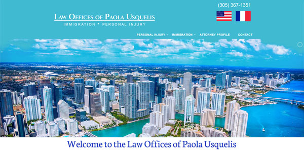 paousquelis.com/: Paola Usquelis, Immigration, Personal Injury Law