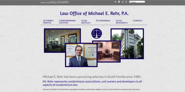 www.rehrlaw.com: Law Office of Michael E. Rehr